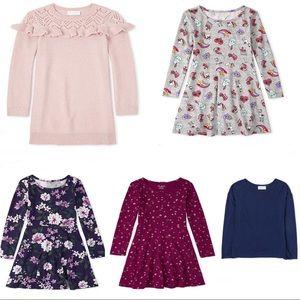 NWT • Bundle Lot of Girls Dresses & Sweater sz 16